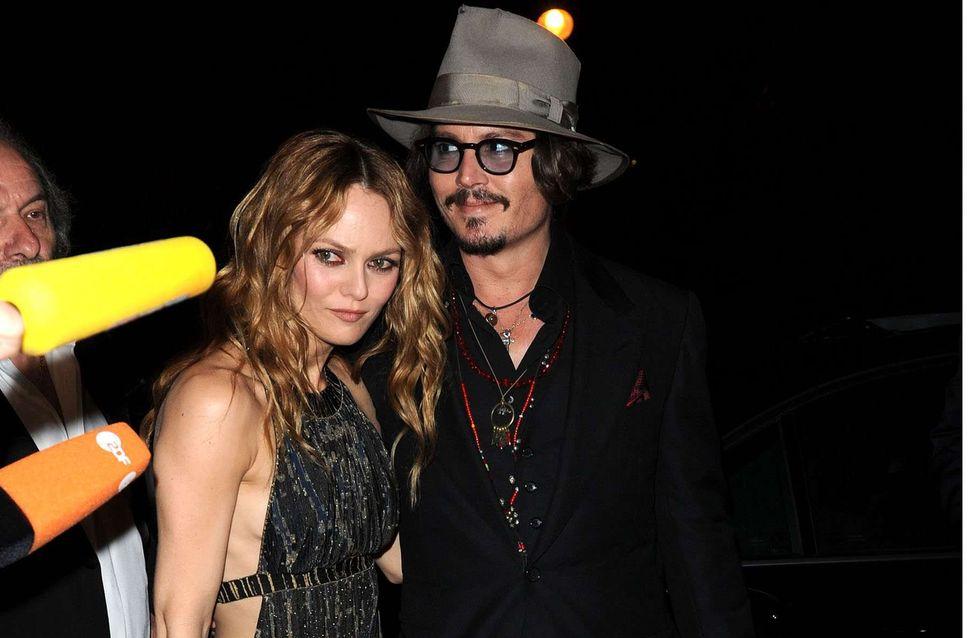 Johnny Depp : Il veut renouer avec Vanessa Paradis pour sa mère