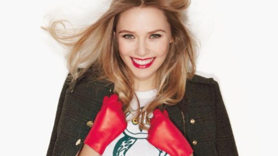 Elizabeth Olsen : Métamorphosée en couverture de Glamour (Photos)