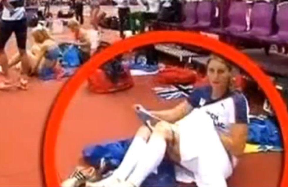 JO 2012 : Une athlète retire sa culotte en direct ! (Vidéo)
