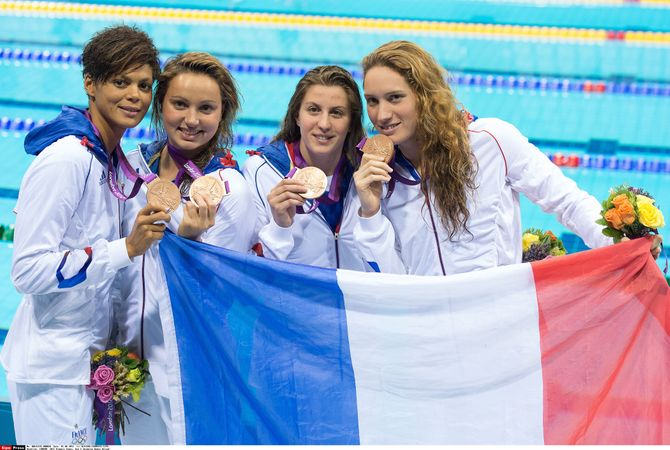 nageuses francaises medaille bronze