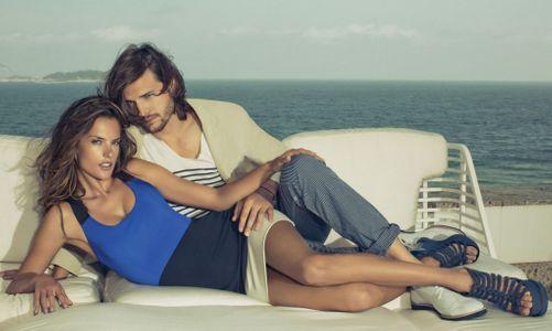 Ashton Kutcher : Ses photos pour Colcci avec Alessandra Ambrosio