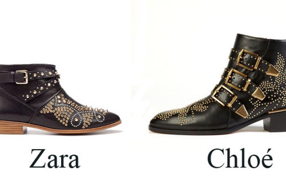 Zara : Les Susanna de Chloé en moins chères !