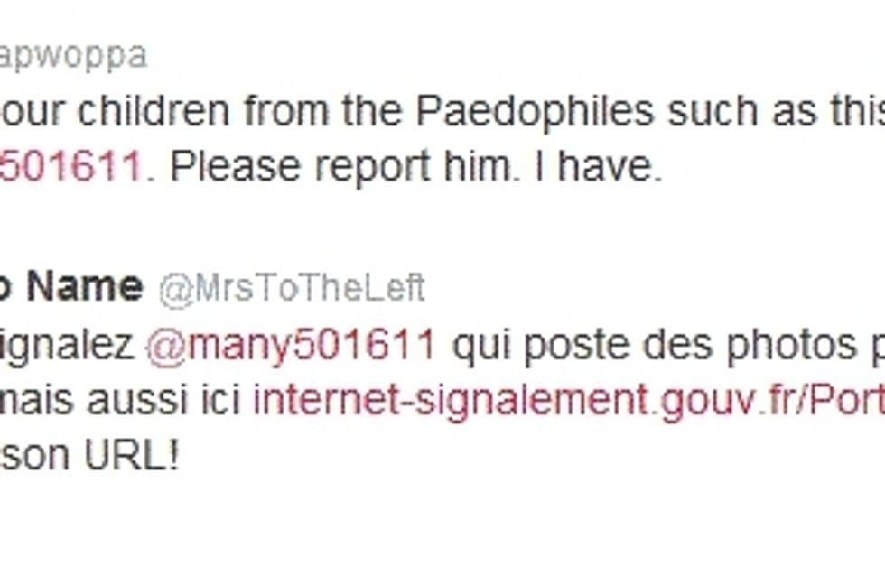 Twitter : Un compte pédo-pornographique fermé grâce aux twittos