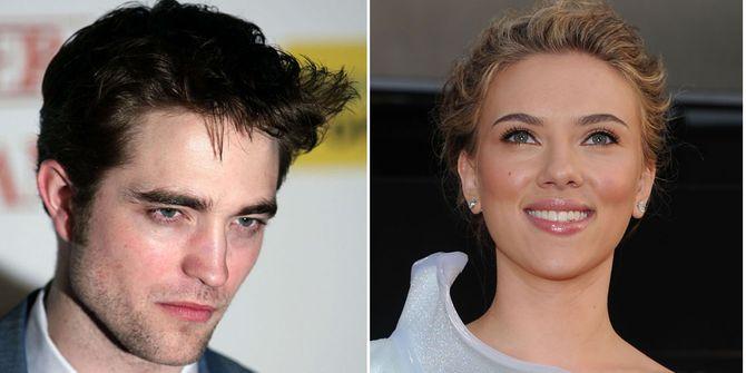 Robert Pattinson et Scarlett Johansson