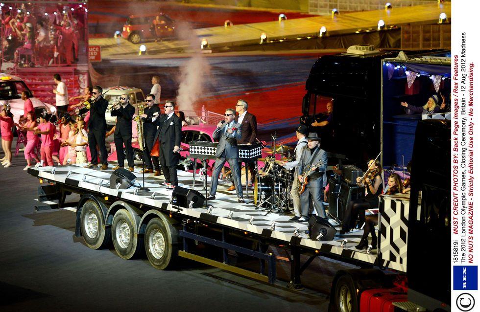 JO 2012 : Une cérémonie de clôture 100 % British music (Photos)