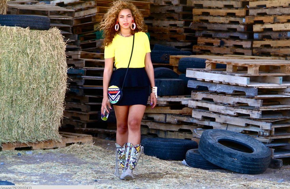 Beyoncé : Les bottes incas, son incontournable de l'été