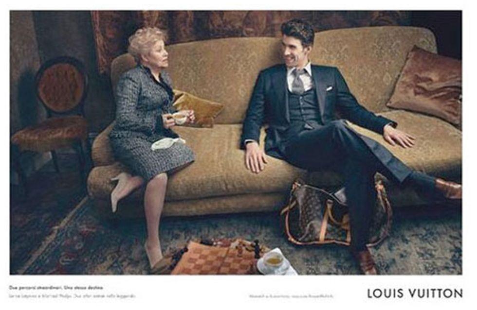 Louis Vuitton : Le nageur Michael Phelps comme ambassadeur (Photos)