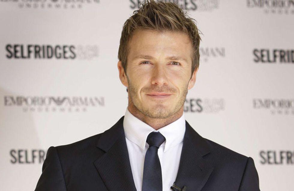 David Beckham : Statue sexy pour H&M ! (Photos)
