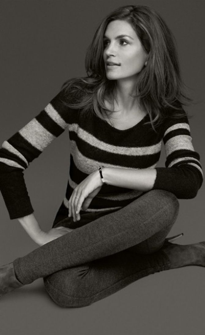 Cindy Crawford pour C&A
