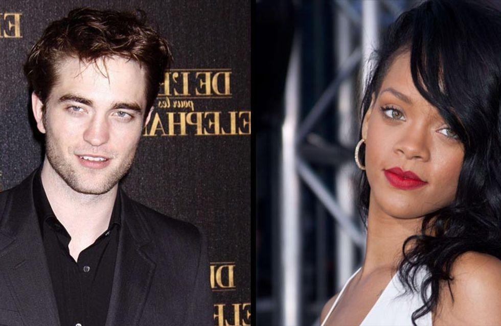 Robert Pattinson : Rihanna lui envoie des textos hot