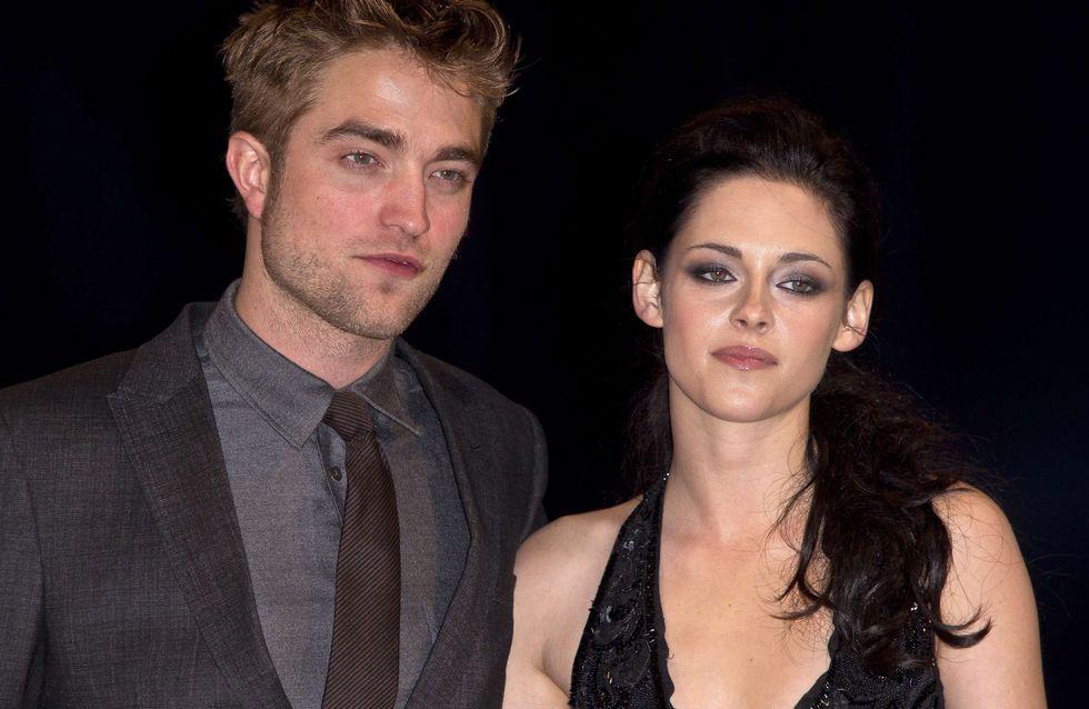 Robert Pattinson et Kristen Stewart : Réunis pour la première de Twilight 5