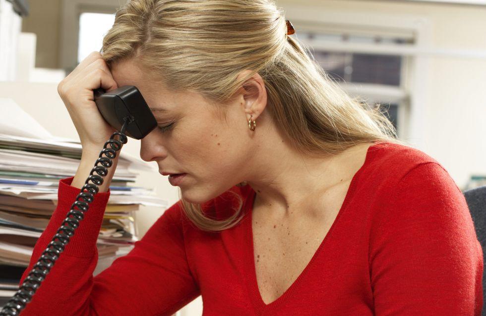 Diabète : Mesdames, attention au stress au travail