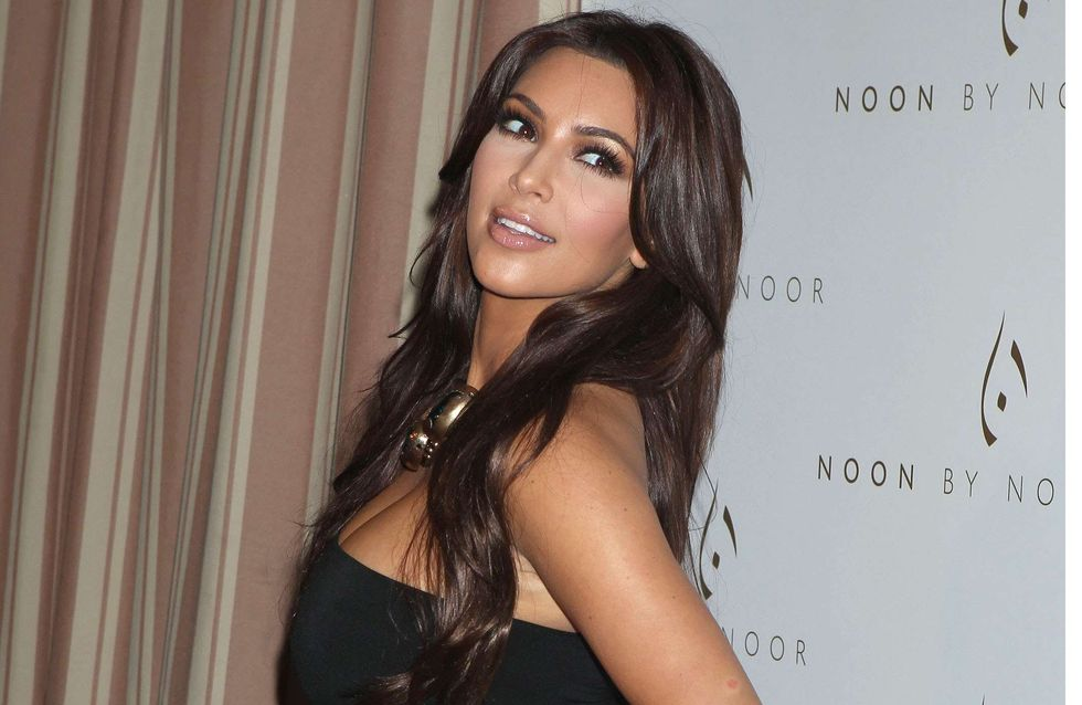 Kim Kardashian : Toujours glam' même quand elle fait la grimace (Photos)