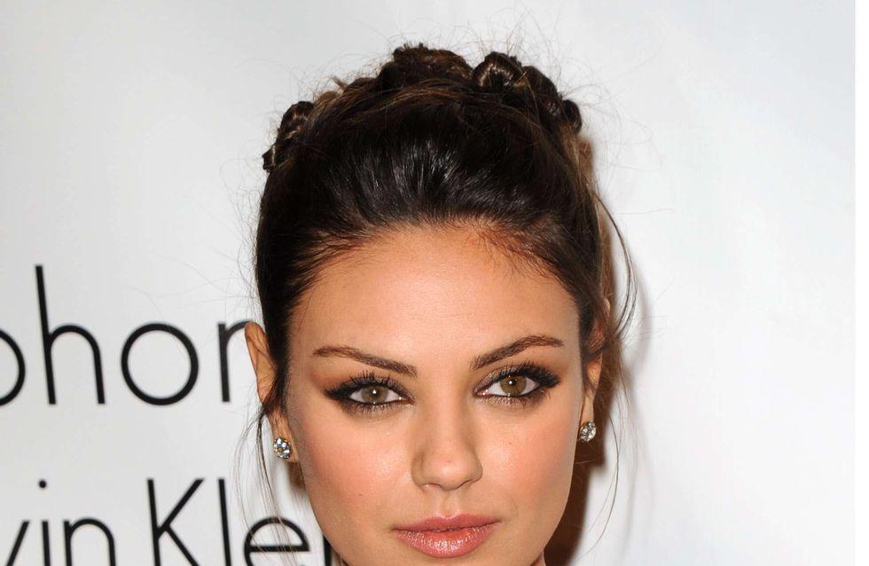 Mila Kunis : Sans maquillage, elle fait peur !