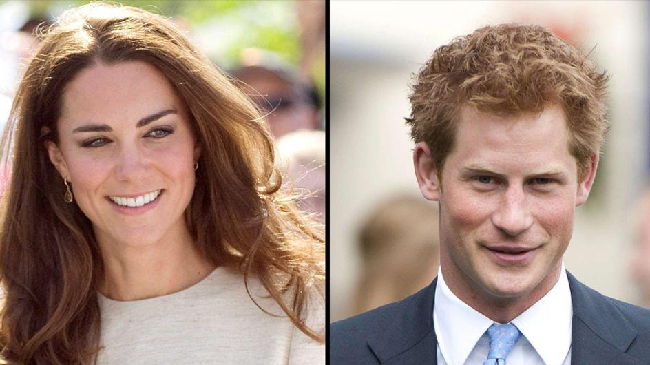 Kate Middleton : Elle coache le Prince Harry