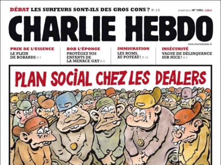 Jean Luc Delarue La Une De Charlie Hebdo Fait Le Buzz