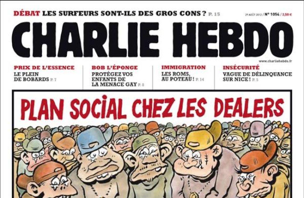 Jean-Luc Delarue : La Une de Charlie Hebdo fait le buzz