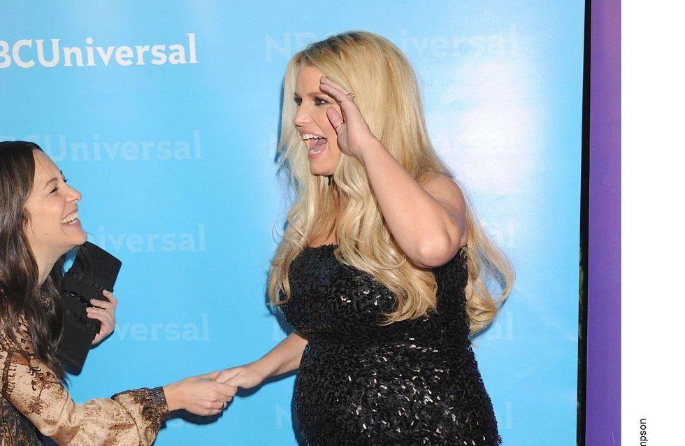 Jessica Simpson : Elle n'arrive pas à perdre ses kilos de grossesse
