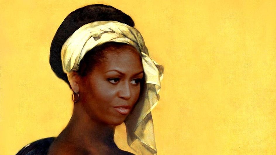 Michelle Obama : En esclave nue sur une couverture de magazine