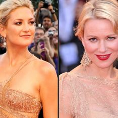 Kate Hudson Vs Naomi Watts : Qui porte le mieux la robe nude ? (Photos)