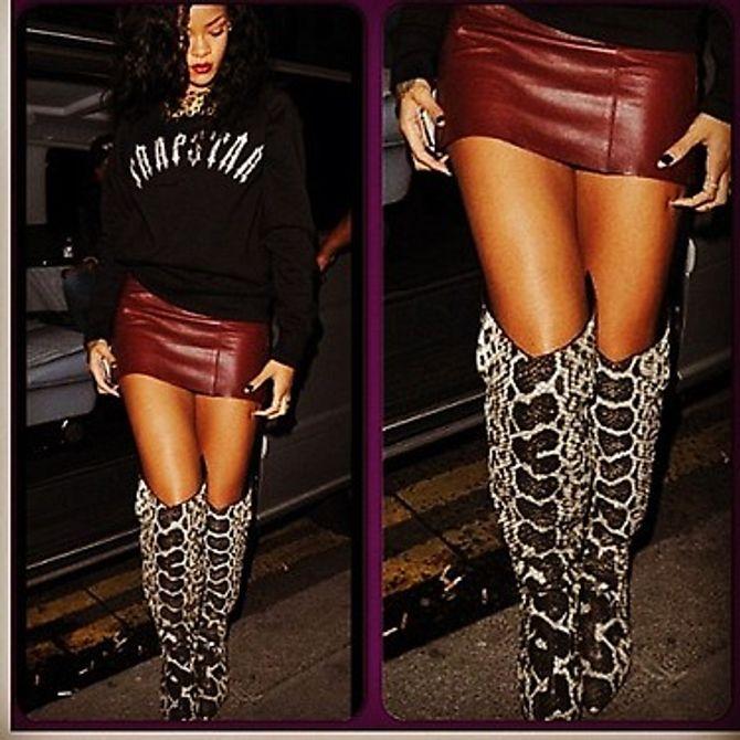 Rihanna, look, moche