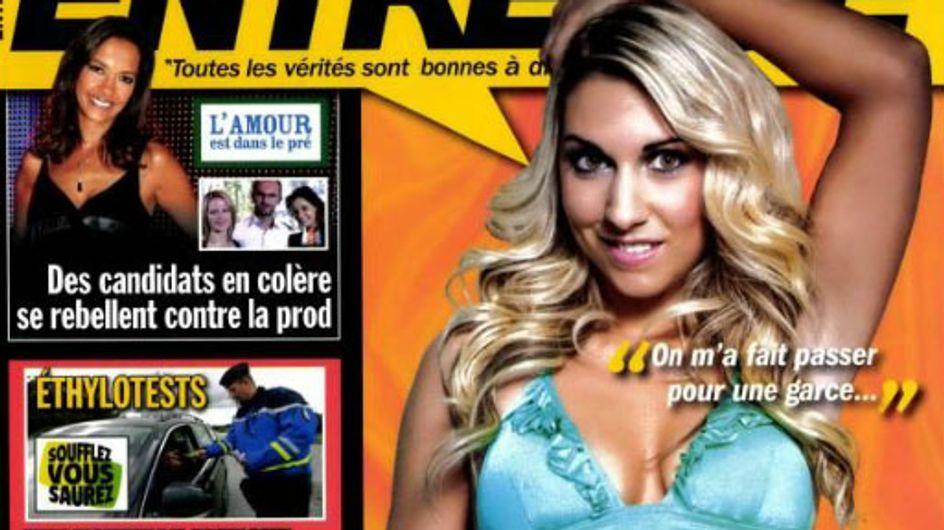 Justine de l'Amour est dans le pré en couverture d'Entrevue (Photos)