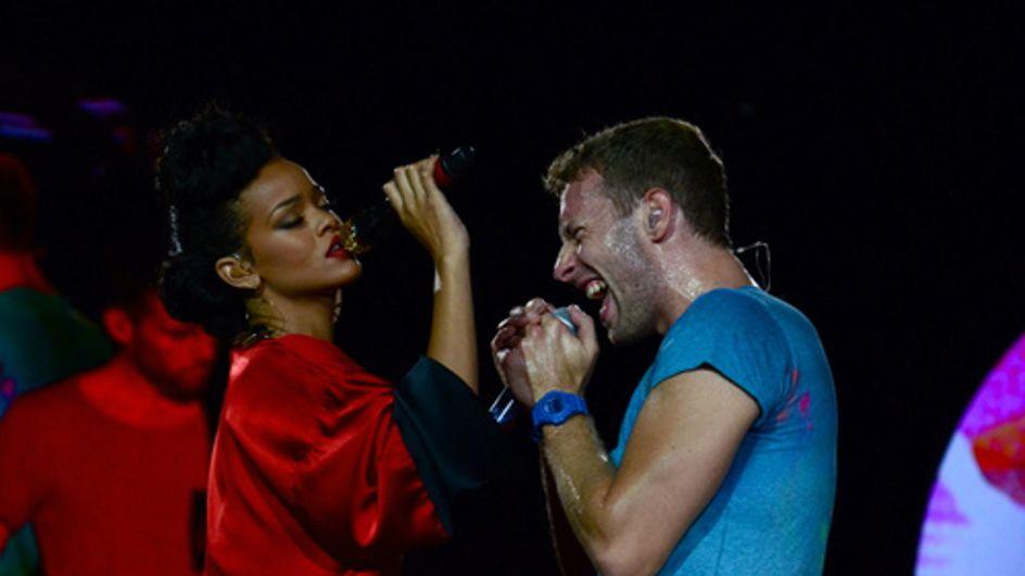 Rihanna : Sublime lors du concert de Coldplay