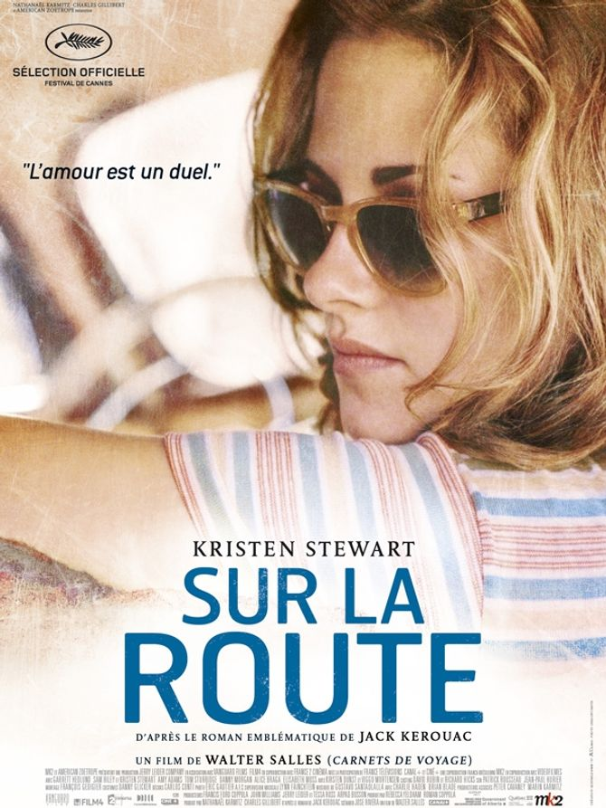 Kristen Stewart Sur la route affiche