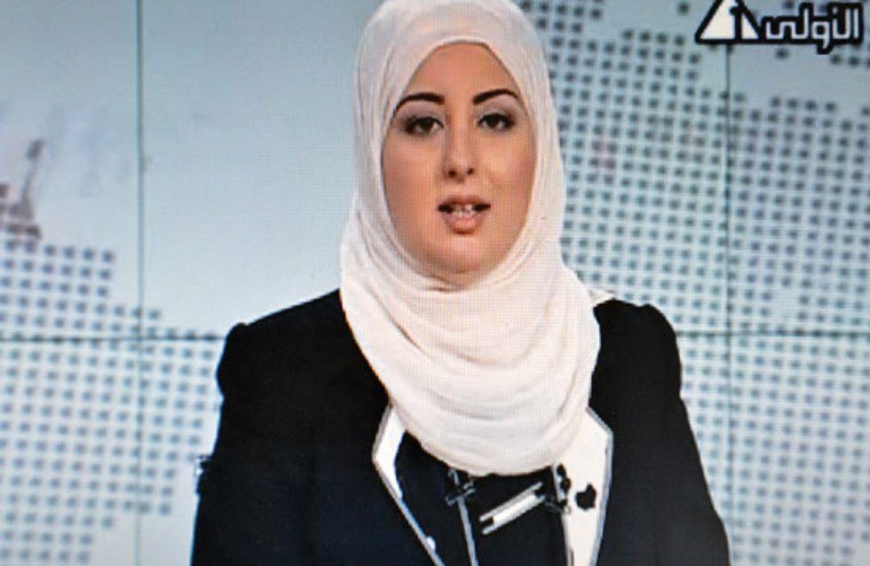 Egypte : Une femme voilée autorisée à présenter le JT