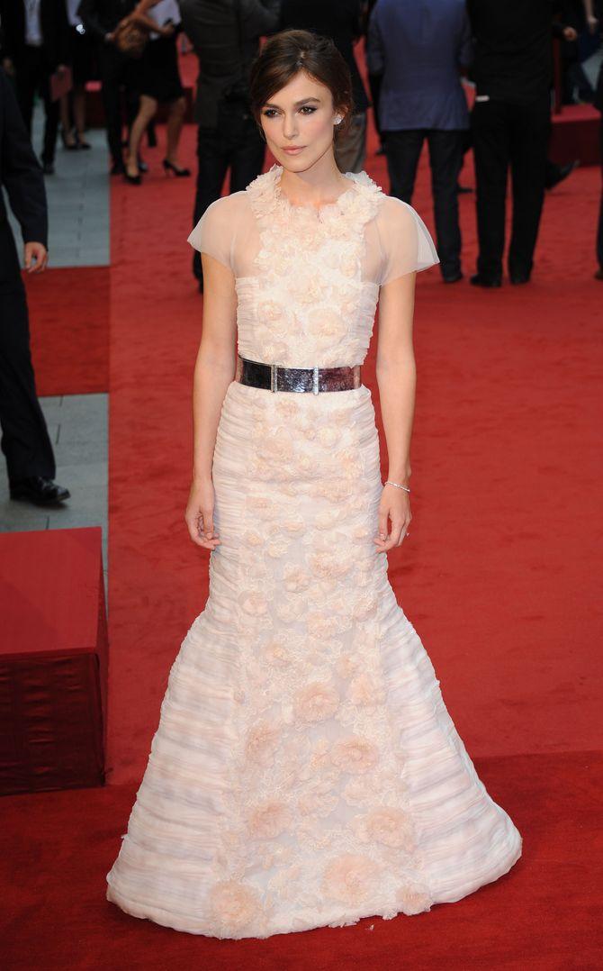 Keira Knightley Anna Karenine Chanel
