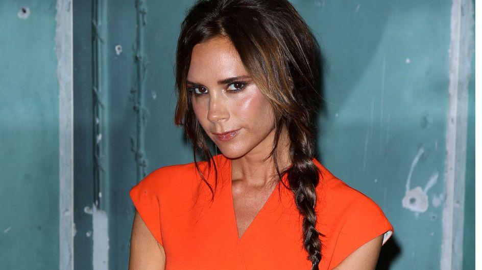 Victoria Beckham : Copiez sa coiffure tressée ! (Vidéo)