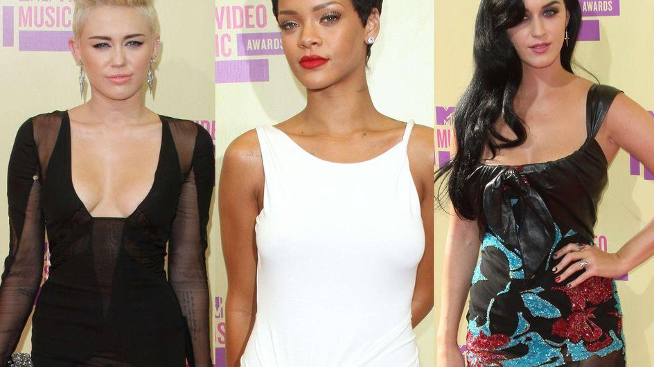 Miley Cyrus, Rihanna, Katy Perry… Leurs looks aux MTV VMA (Photos)
