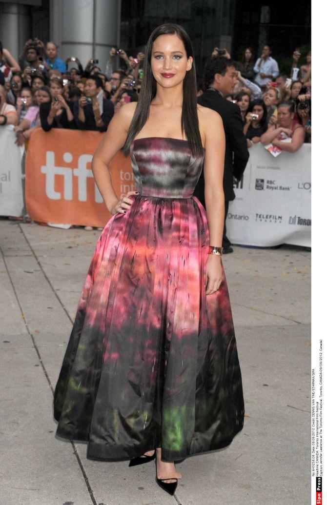 Jennifer Lawrence brune