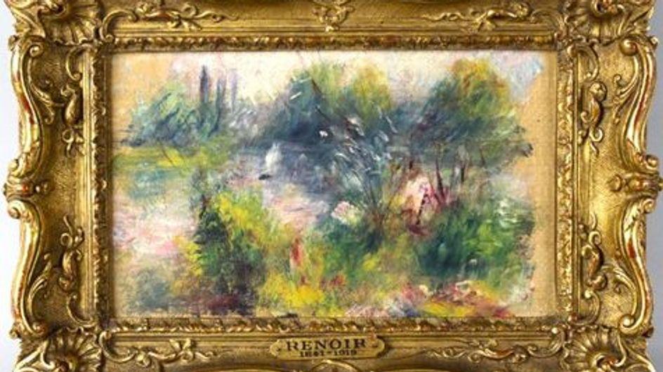 Insolite : Sans le savoir, elle achète un Renoir pour 7 dollars !