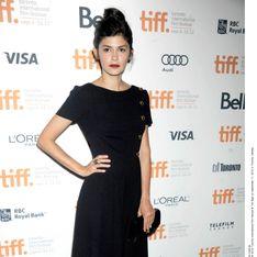 Audrey Tautou : Superbe en Prada au Festival de Toronto (Photos)