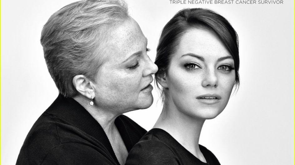 Emma Stone : Sa lutte contre le cancer du sein ! (Photos)