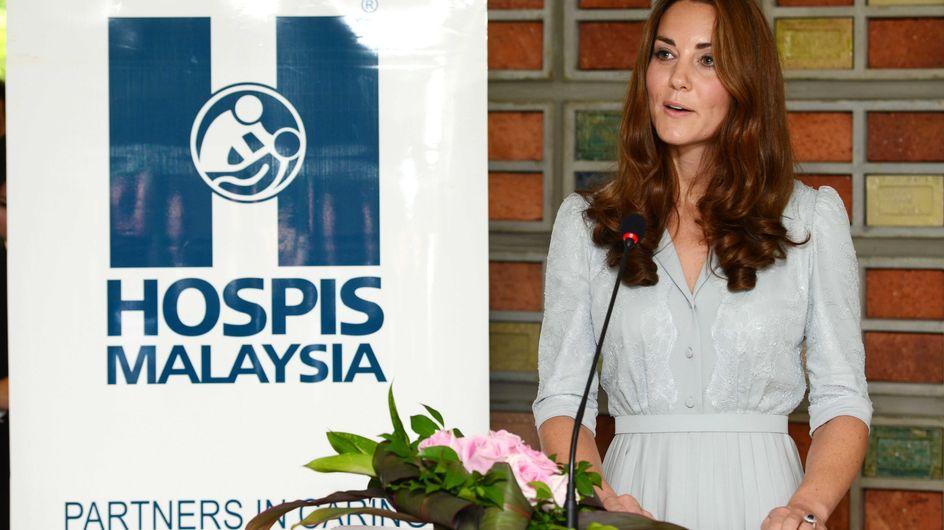 Kate Middleton : Son discours émouvant pour les enfants (Vidéo)
