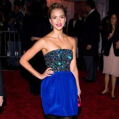 Jessica Alba : Look osé mais réussi au défilé Ralph Lauren ! (Photos)