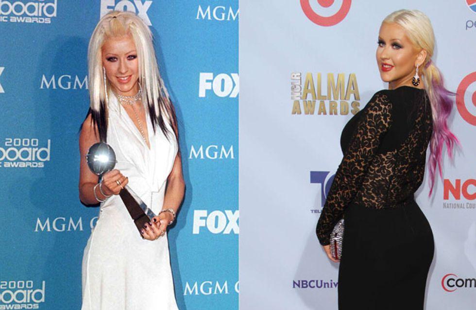 Christina Aguilera : Fière de ses kilos en trop ! (Photos)
