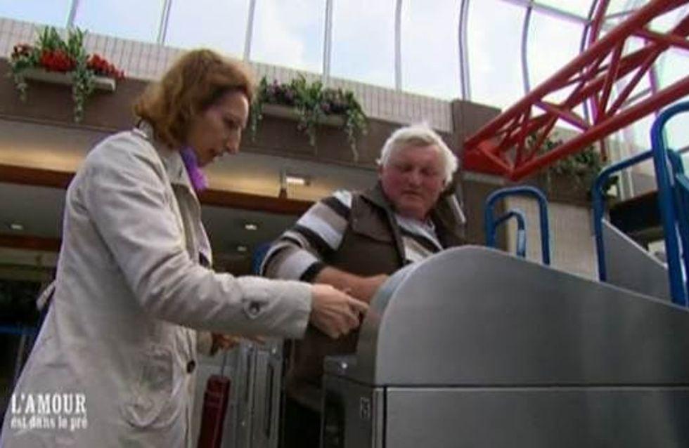 L'amour est dans le pré : Thierry découvre le RER (Extrait Vidéo)