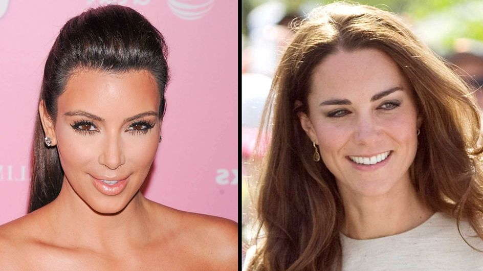 Kim Kardashian : Bientôt lookée comme Kate Middleton ?