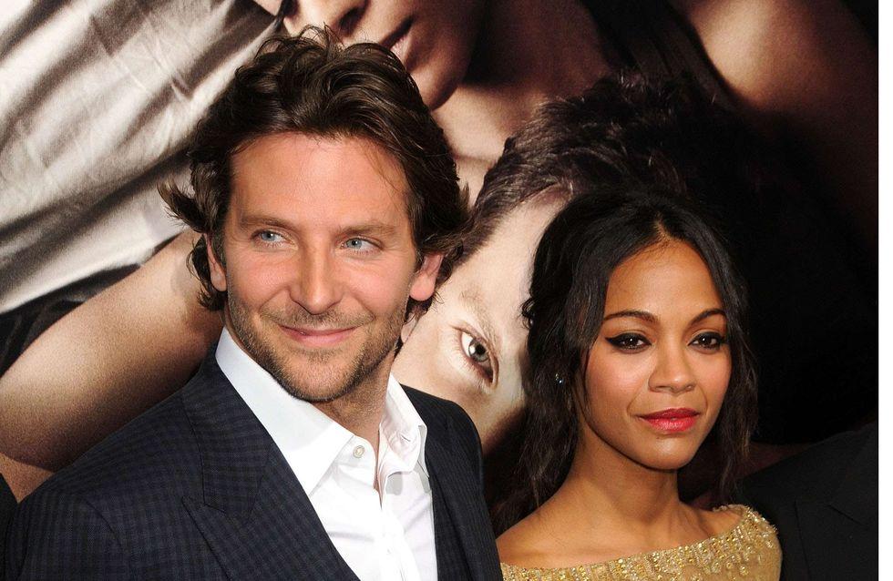 Bradley Cooper : C'est reparti avec Zoe Saldana