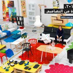 Ikea : Les femmes effacées du catalogue saoudien ! (Photos)