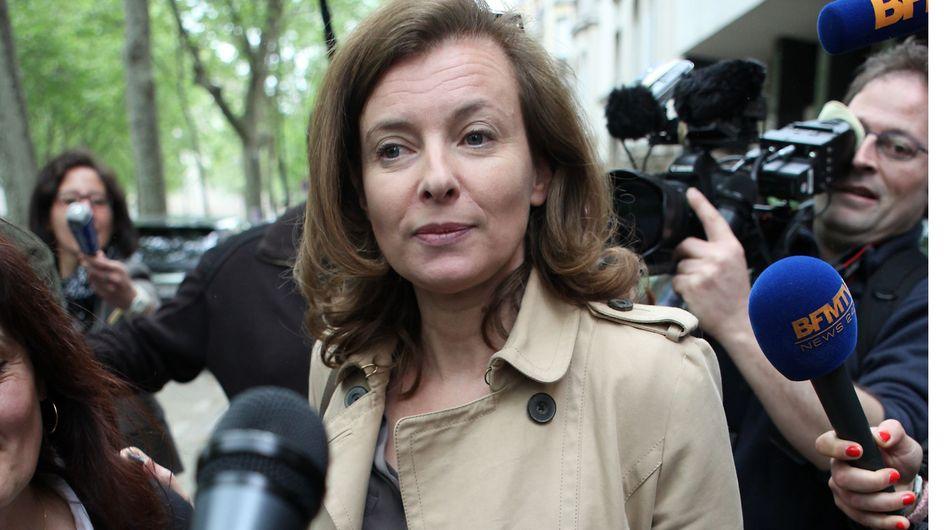 """Valérie Trierweiler animatrice télé : """"Ce ne serait pas convenable"""" selon Bernadette Chirac"""