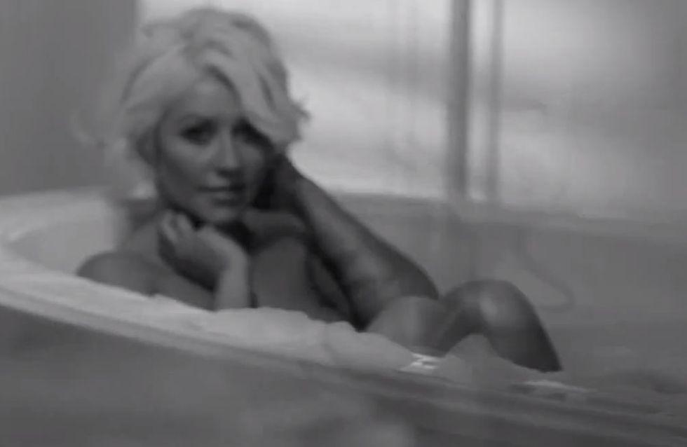 Christina Aguilera : Sexy dans la pub pour son nouveau parfum (Vidéo)