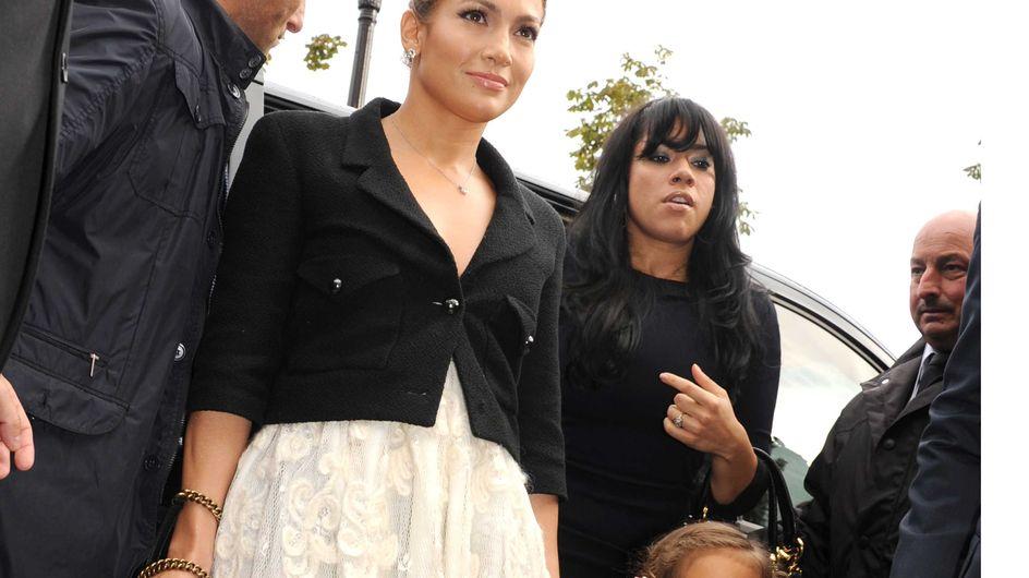 Jennifer Lopez et sa fille Emme au défilé Chanel (Photos)