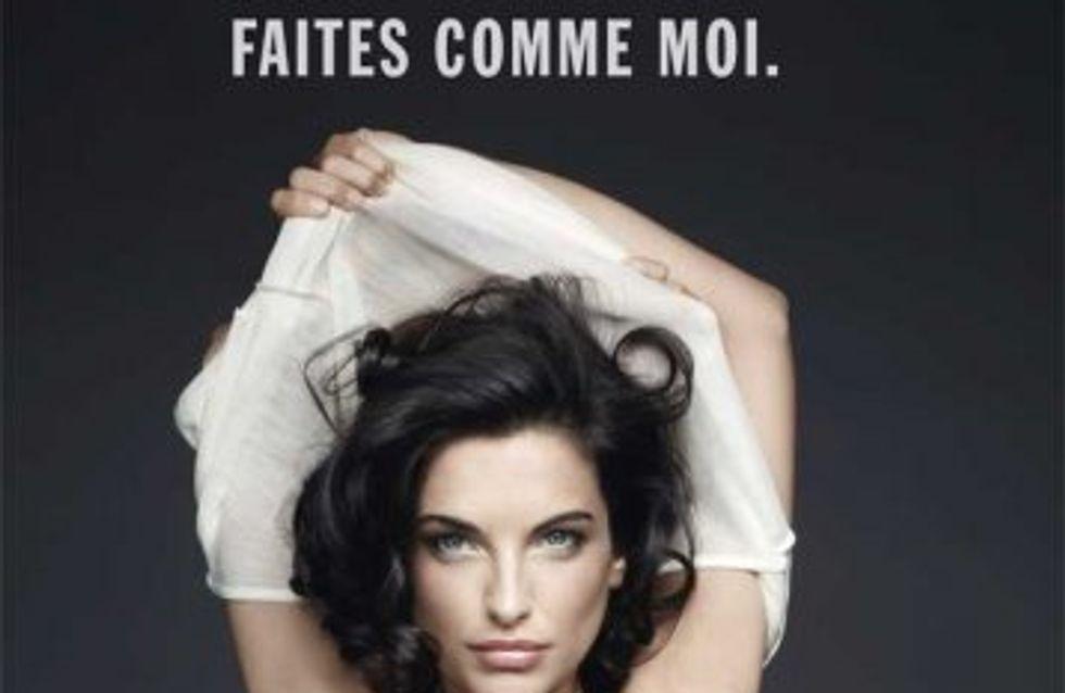 Pauline Delpech : L'actrice montre ses seins pour lutter contre le cancer (Photos)