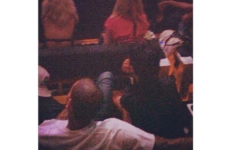 Rihanna et Chris Brown : Amoureux au concert de Jay-Z…