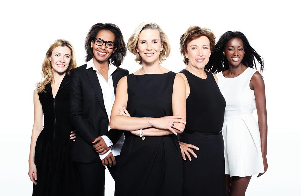 Laurence Ferrari : Dans les coulisses de sa nouvelle émission avec Audrey Pulvar et Roselyne Bachelot (Vidéo)