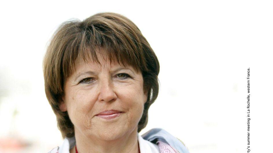 Quand Martine Aubry imite Ségolène Royal (Audio)